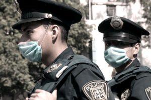 Policias en Mexico DF