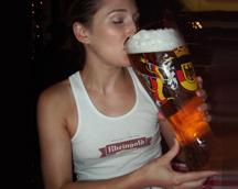 El alcohol tarda seis minutos en llegar al cerebro