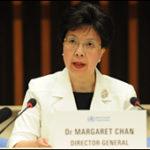 Dra. Margaret Chan. Directora de la OMS