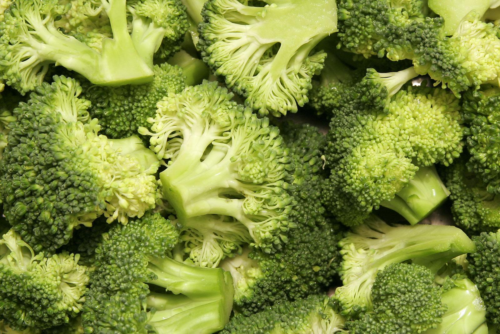 El brócoli ha sido previamente asociado con un riesgo reducido de cáncer